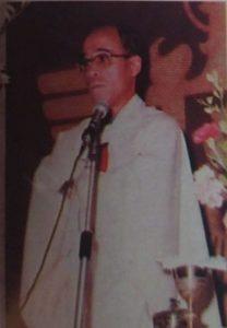 P. Elías Aparicio. Director (1978-1987)