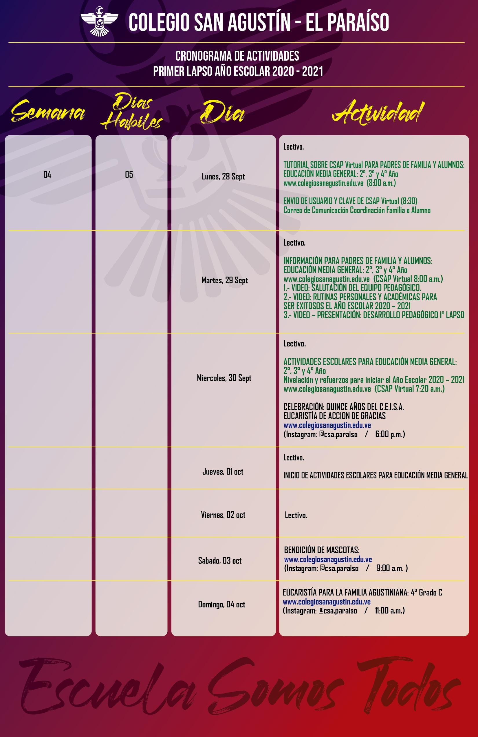 calendario Colegio San agustin x semana_Mesa de trabajo 1 copia 3